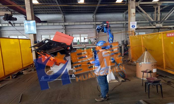 耳板机器人焊接工作站